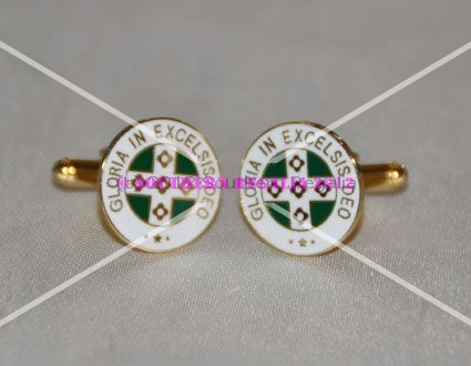 Royal Order of Scotland Gold Plated Cufflinks