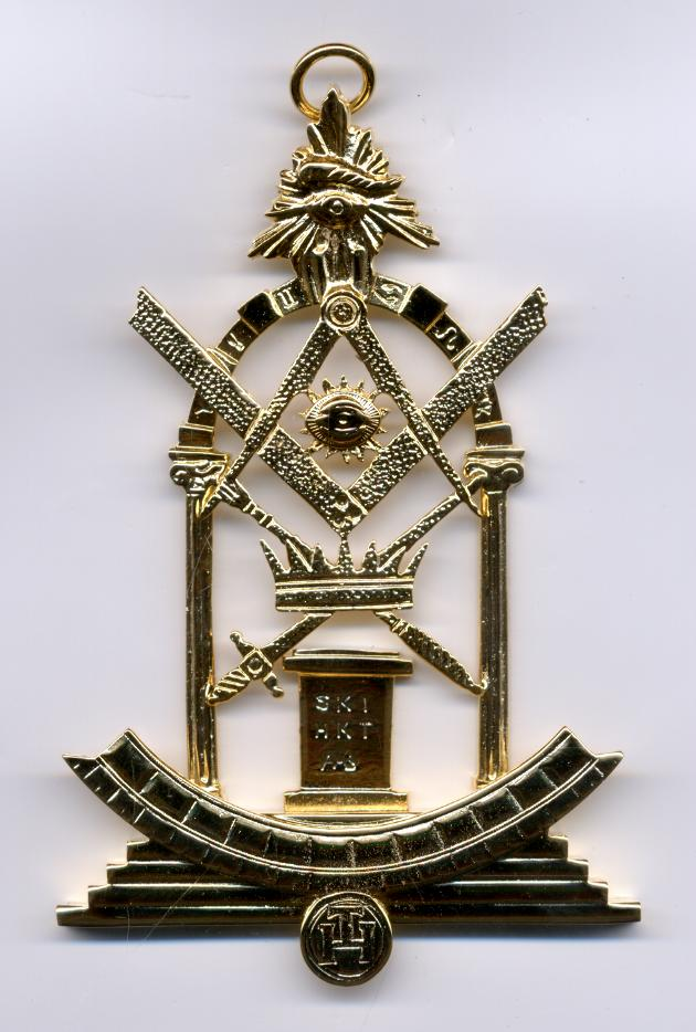 Royal Arch Grand Officers Collar Jewel - 'Z' Scottish