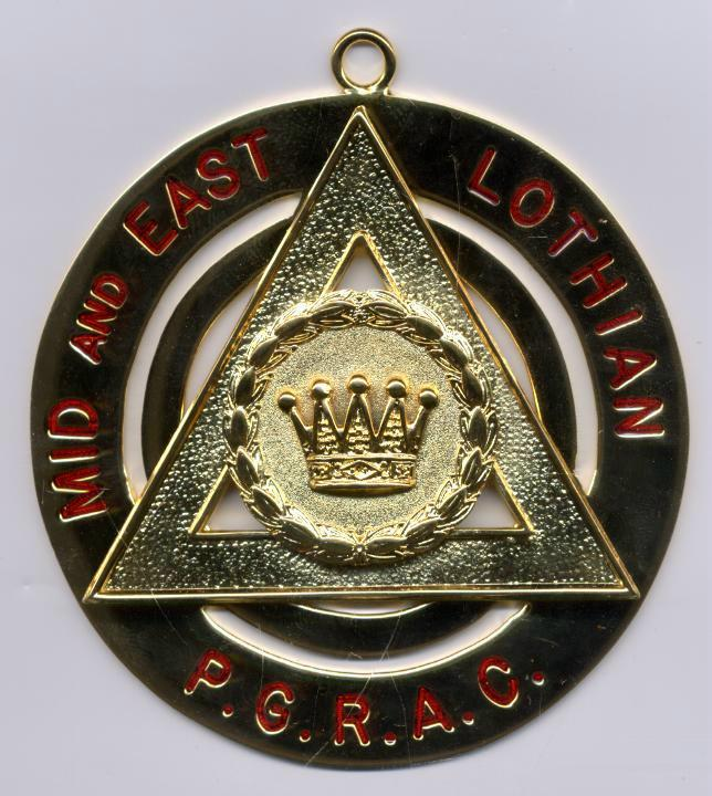 Royal Arch Provincial Officers Collar Jewel (Active) - Scottish