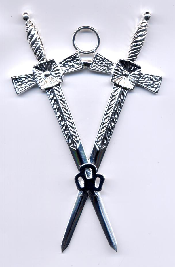 Craft Lodge Officers Collar Jewel - Inner Guard (Scottish)