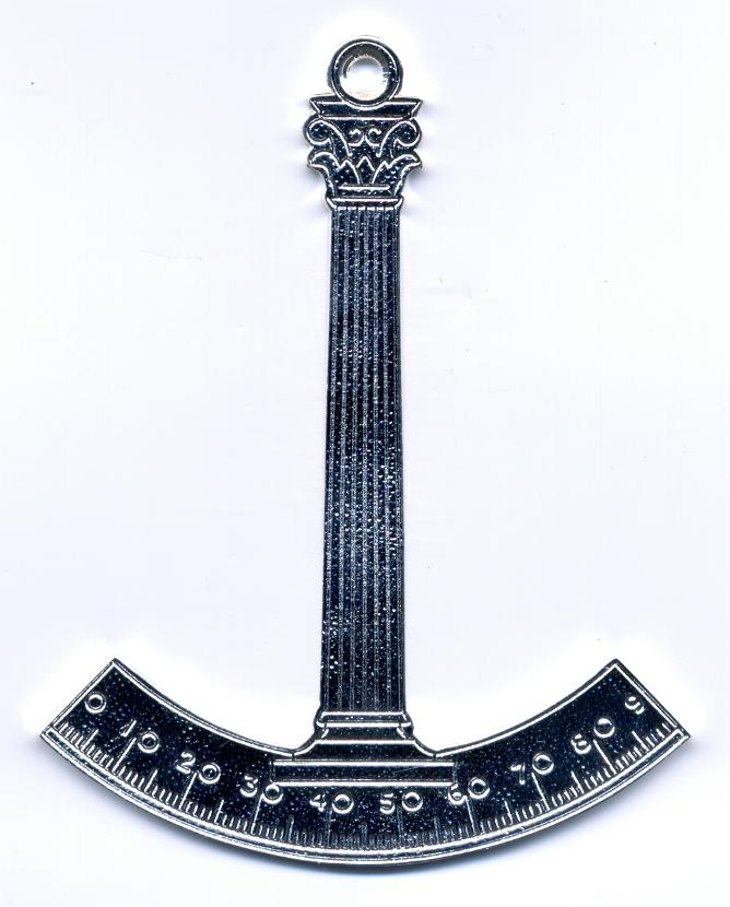 Craft Lodge Officers Collar Jewel - Architect (Scottish)