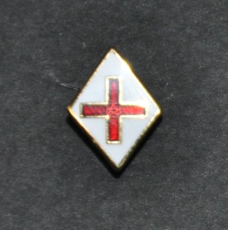 Sria rosicrucian in anglia southern regalia masonic regalia sria logo gold plated lapel pin mozeypictures Image collections