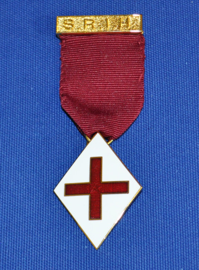 SRIH 1st - 4th Grade Breast Jewel - Maroon