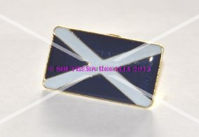 Scotland St. Andrews Cross Flag Lapel Pin