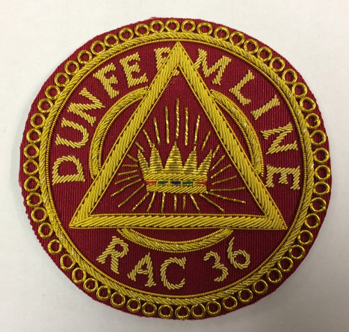 Royal Arch Past Z (PZ) Apron Badge