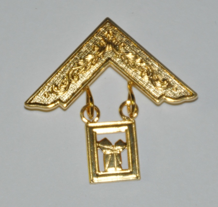 Craft Past Masters Breast Jewel - Square & Problem [ii] (Gilt)