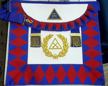 Royal Arch Supreme Grand Chapter Apron (Spanish)