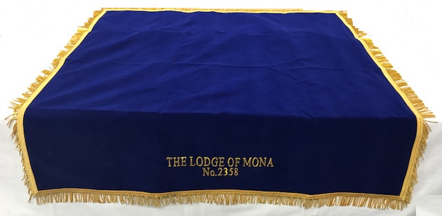 Table Cover with Lodge Name & Number