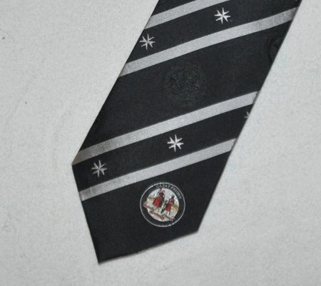 Tie - Knights of Malta - silk