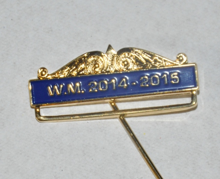 Breast Jewel Top Bar - WM 2014-2015 - Blue Enamel
