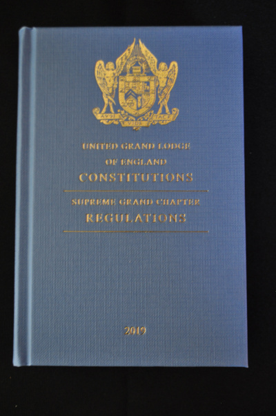 Book of Constitutions - UNITED GRAND LODGE OF ENGLAND