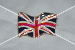 Union Jack Flag Lapel Pin [Large]
