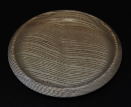 Wooden Alms Dish / Collection Plate - 8 inch