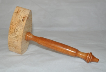 Wooden Gavel - Deluxe (i)