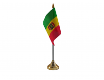 Bolivia Flag (Table Top) with stick