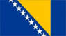Bosnia Flag (5' x 3') with eyelets