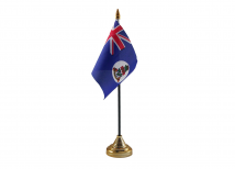 Cayman Islands Flag (Table Top) with stick