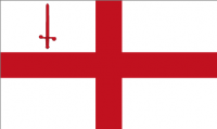 City of London Flag (5' x 3') with eyelets