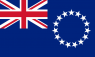 Cook Islands Flag (5' x 3') with eyelets