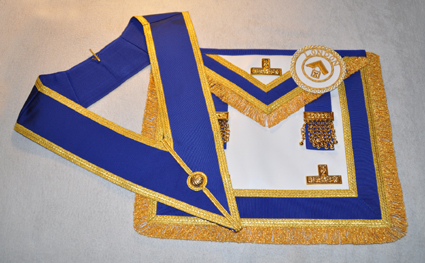Provincial Full Dress Apron & Badge & Collar set - Standard
