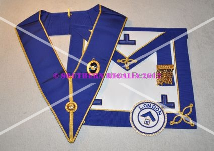 Provincial Undress Apron & Badge & Collar - Leather