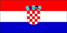 Croatia Flag (5' x 3') with eyelets