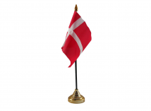 Denmark Flag (Table Top) with stick