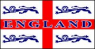 England 4 Lions Flag (5' x 3') with eyelets