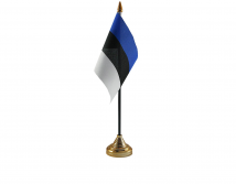 Estonia Flag (Table Top) with stick