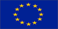 European Flag (5' x 3') with eyelets