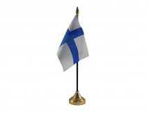 Finland Flag (Table Top) with stick