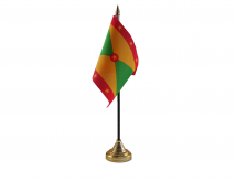 Grenada Flag (Table Top) with stick