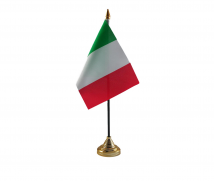 Italy Flag (Table Top) with stick