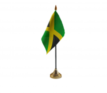 Jamaica Flag (Table Top) with stick