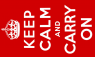 Keep Calm and Carry On Flag (5' x 3') with eyelets