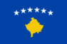 Kosovo Flag (5' x 3') with eyelets