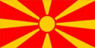 Macedonia Flag (5' x 3') with eyelets