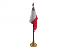 Malta Flag (Table Top) with stick