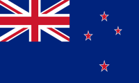 New Zealand Flag (5' x 3') with eyelets