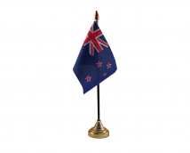 New Zealand Flag (Table Top) with stick