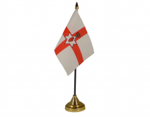 Northern Ireland Flag (Table Top) with stick