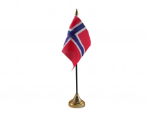 Norway Flag (Table Top) with stick