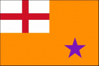 Orange Order Flag (5' x 3') with eyelets