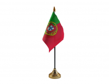 Portugal Flag (Table Top) with stick