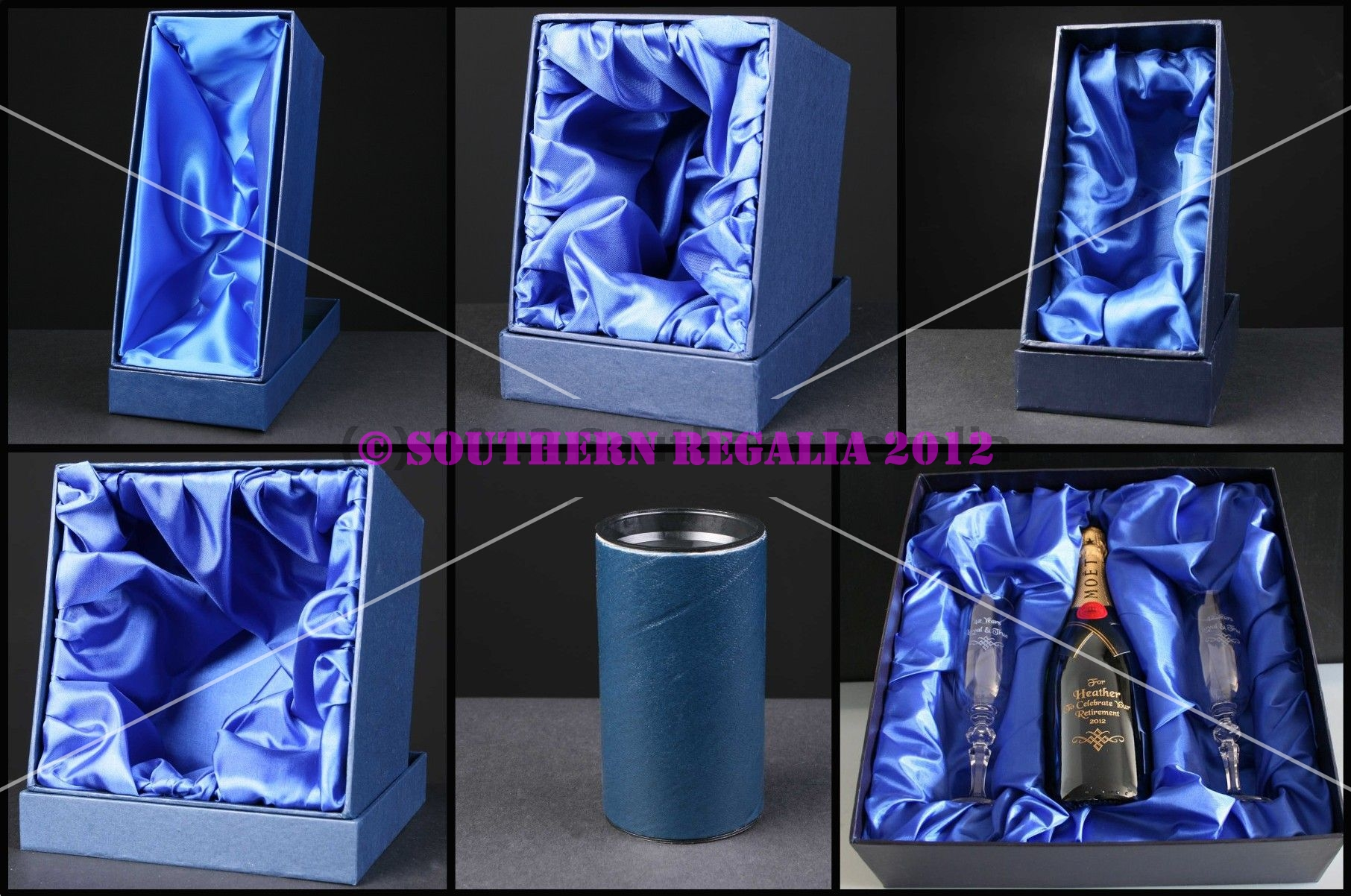 Glass Presentation Boxes