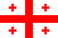 Knights Templar / Georgia Flag (3' x 2') with eyelets