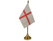 St. George Flag (Table Top) with stick