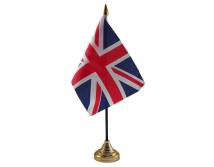 United Kingdom Union Jack Flag (5' x 3') with eyelets