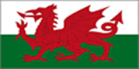Wales Flag (5' x 8') with eyelets